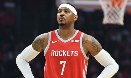 Rockets Release Statement on What They're Doing with Carmelo Anthony