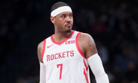 Gilbert Arenas Pokes Fun at Carmelo Anthony after he was Released by the Rockets