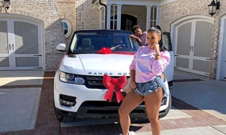 LeSean McCoy's Ex Girlfriend Delicia Cordon Gets Gifted a Brand New Range Rover