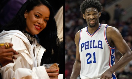 Joel Embiid says he is no longer interested in Rihanna