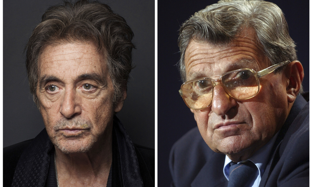 First look at Al Pacino playing Joe Paterno in HBO movie