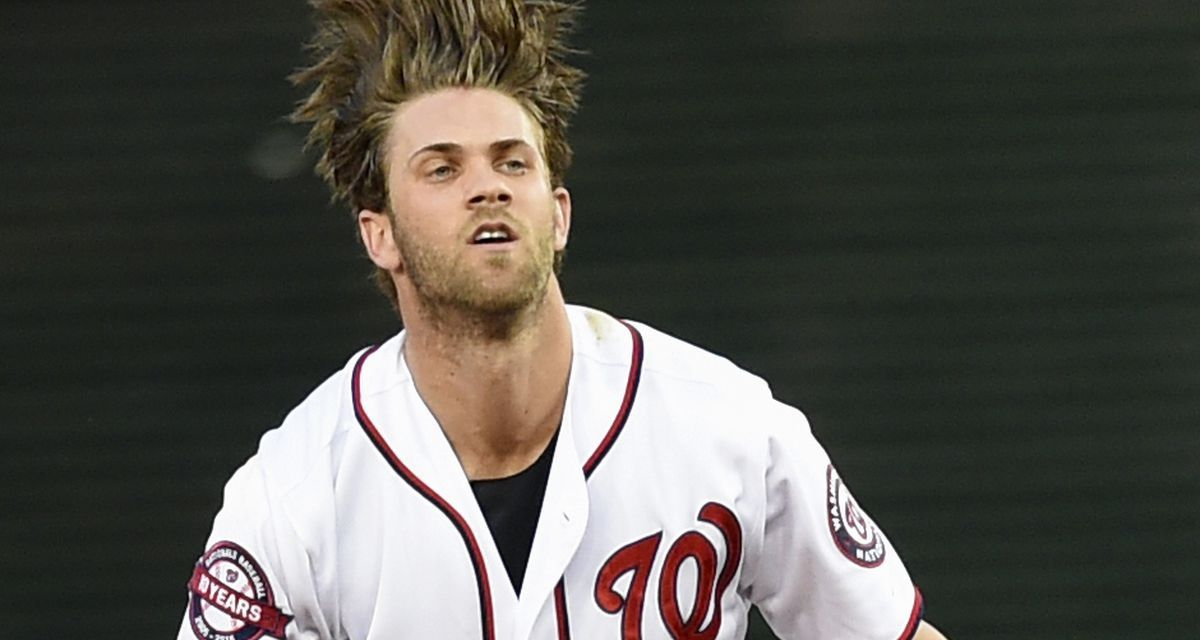 Bryce Harper is Into Cupping
