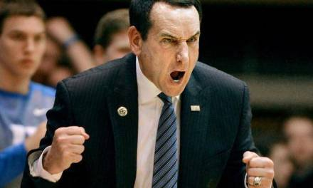 A Salty Coach K Spoke To The Media Following Loss To St. John's