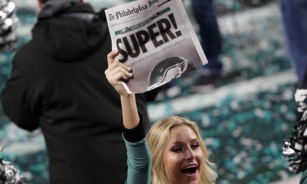 New York Tabloid Trolls the Eagles