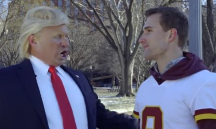 Kirk Cousins Appeared In Local Ad With A Fake President Trump