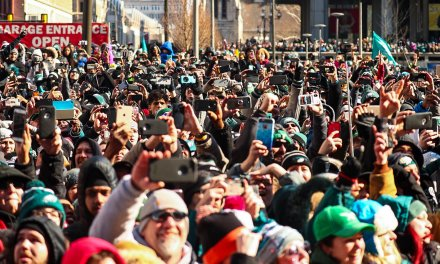 Eagles Fans Brawl During Super Bowl Parade