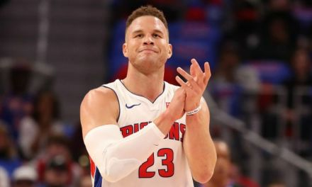 Blake Griffin Was T'd Up For Throwing The Ball Off Of Dennis Schroder's Head