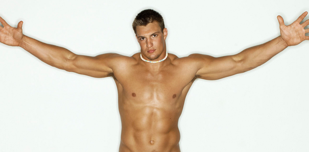 Gronk Thrusting on a Boat is Exactly What You Would Expect it to Be