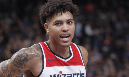 Kelly Oubre Tried To Untie Rodney Hood's Shoe Mid-Game