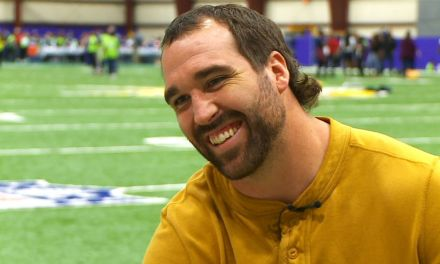 Former NFL Player Jared Allen is Training to make the 2022 Winter Olympics as a Curler