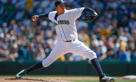 Felix Hernandez Leaves Spring Training Game After Taking a Line Drive Off of his Right Arm