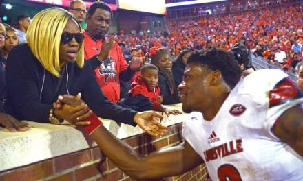 Lamar Jackson Chooses His Mom to Rep Him at NFL Draft
