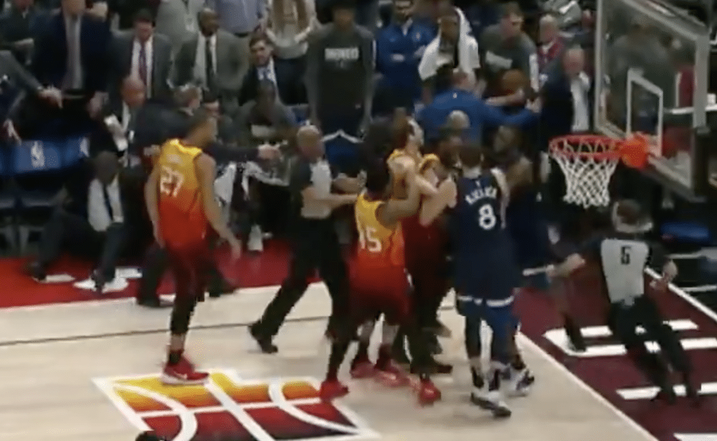 Jeff Teague Ejected For Bodychecking Ricky Rubio