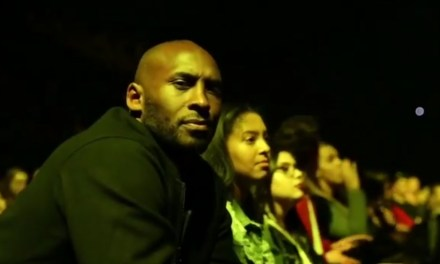 Kobe Bryant Spotted Enjoying Himself at a Demi Lovato Concert