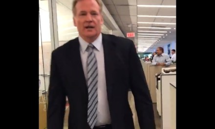 Roger Goodell Ran a 5.41 40-yard dash in a Suit