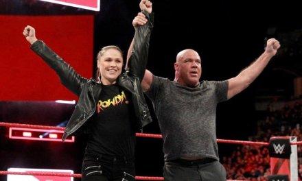Ronda Rousey Slams Stephanie McMahon at WWE Raw