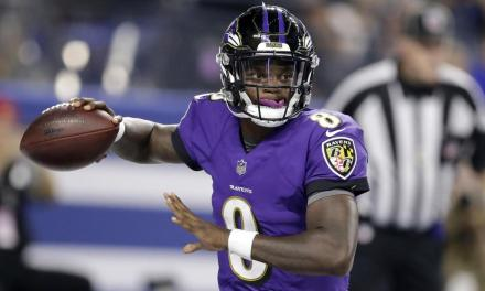 With Joe Flacco Still Not Practicing Lamar Jackson is Likely to Start Sunday