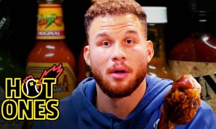 Blake Griffin Gets Full-Court Pressed By Spicy Wings on Hot Ones