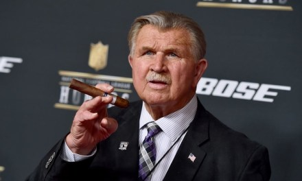 Former Bears Head Coach Mike Ditka is in a Florida Hospital after Suffering a Heart Attack