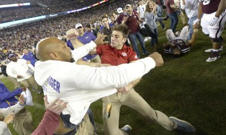 Jimbo Fisher's Nephew Identified as the Credentialed Texas A&M Man Who Traded Punches with LSU's Kevin Faulk