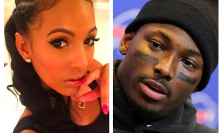 LeSean McCoy's Ex Delicia Cordon is Now Dating Ray Hushpuppi