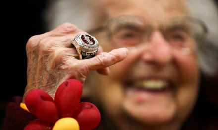 Loyola's Sister Jean Received Her Final Four Ring