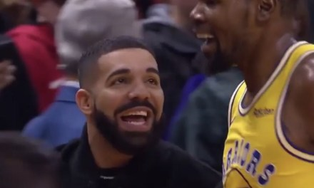Kevin Durant Gave Drake a Titty Twister During Overtime Loss to the Raptors