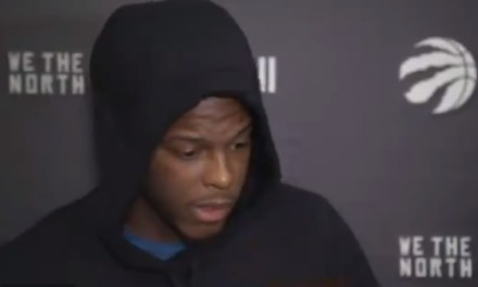 Kyle Lowry Started Off his Post Game Interview By Asking Reporters for 'No Dumbass Questions'
