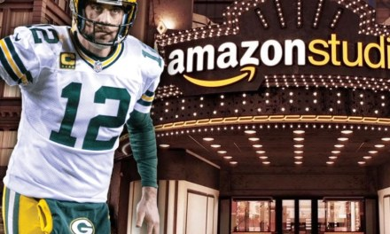 Aaron Rodgers Teaming up with Amazon Studios For College Football Drama