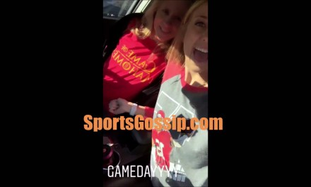 Pat Mahomes Girlfriend and Her Mother All in on Chiefs