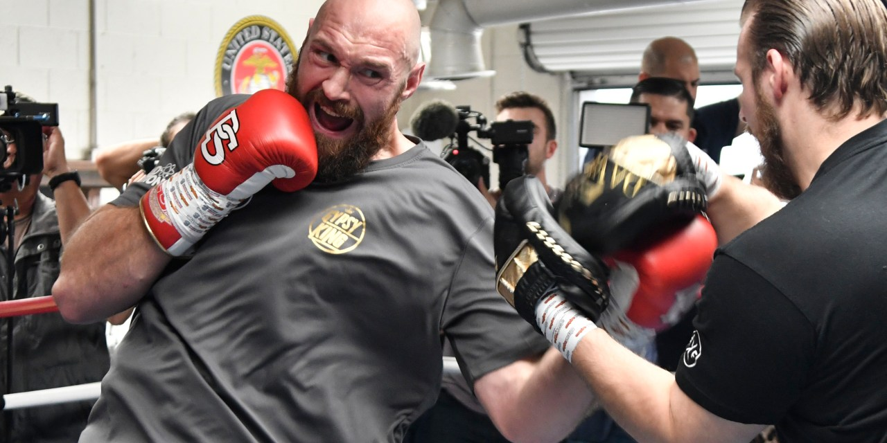 Tyson Fury to Donate Entire Purse from Deontay Wilder Fight to Helping the Needy