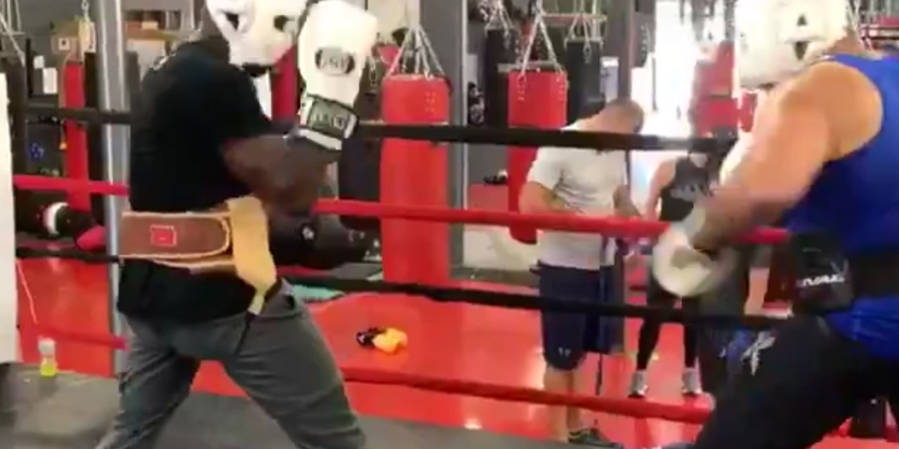 Chad Johnson Stepped into the Ring and Got His Feet Wet with a Heavyweight