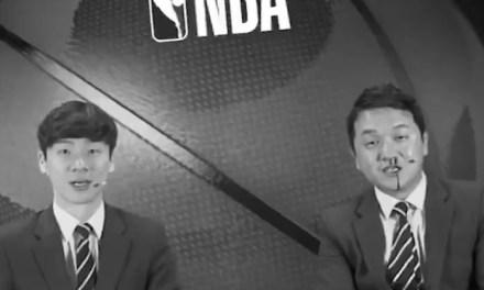 Korean Sportscaster Jo Hyun-il Has Bloody Nose On Air During NBA Segment