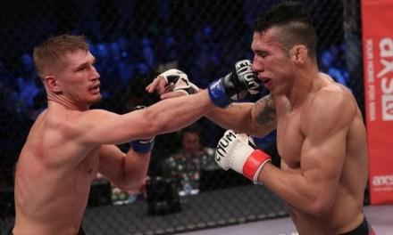 MMA Referee Joe Fipp Slammed After Late Stoppage