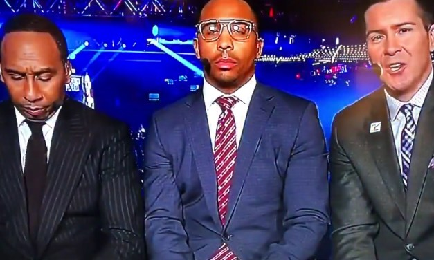Stephen A. Smith Caught Sleeping on Live TV