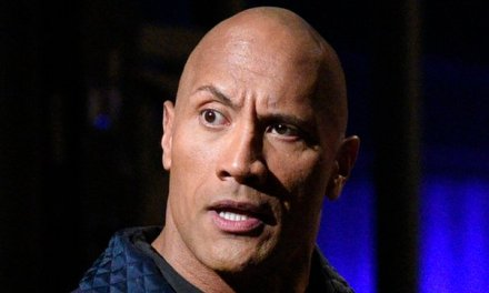 The Rock Claps Back Hard After Someone Commented On His TV Situation in his Kitchen