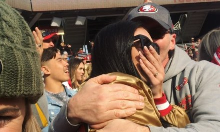 49ers TE George Kittle's Fiancee Celebrated His Historic Day