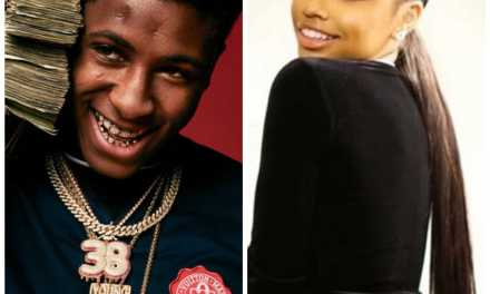 NBA YoungBoy with Floyd Mayweather's Daughter Iyanna?