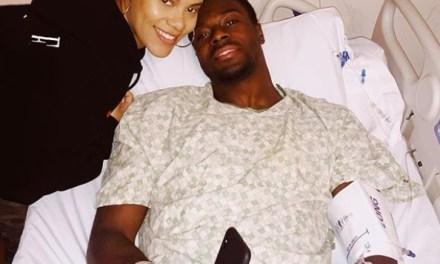 AJ Green's Wife Miranda Sends out Prayers Pre Surgery