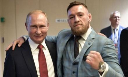Khabib and Conor McGregor Finish Ahead of Putin in Russia's Google Search 2018 List