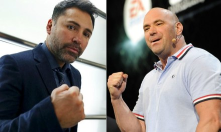 The Golden Boy Has Challenged UFC President Dana White to a Fight