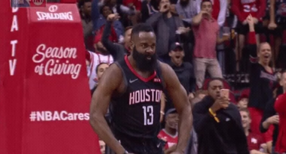 ac3073914900 James Harden Dropped 50 on the Lakers and Put JaVale McGee on a Poster