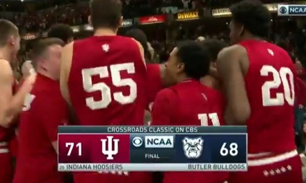 Indiana beat Butler on an Absolute Prayer at the Buzzer