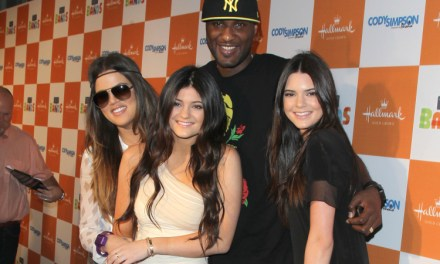Lamar Odom Spotted Over the Weekend in a Kardashian T-Shirt