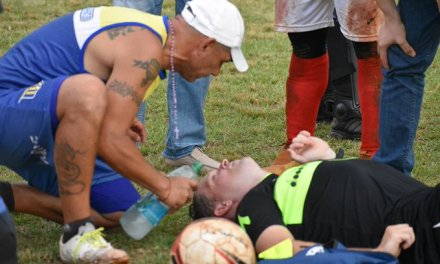 Argentine Soccer Player Arrested After Knocking  Referee Out Cold