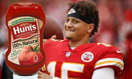 Patrick Mahomes Dropped a Hunt's Ketchup Commercial