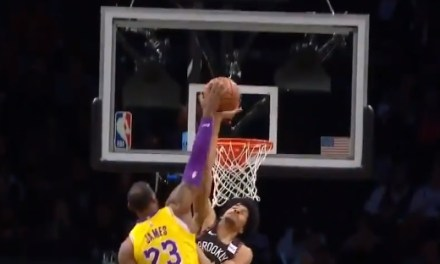 Jarrett Allen Becomes 8th Player to Block a LeBron Dunk