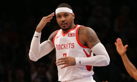 Is Carmelo Anthony Trying to Get the Lakers or Warriors to Sign Him?
