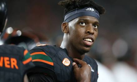 Miami QB N'Kosi Perry is Taking Heat for Posting a Sexually Explicit Video on Snapchat