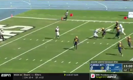 Bahamas Bowl Started with a Turnover after the Most Casual Kickoff Return of All-Time